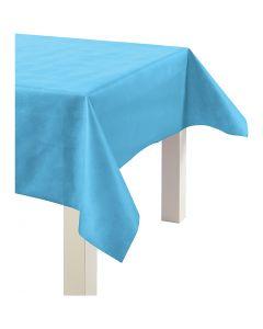 Tafelkleed van imitatiestof, B: 125 cm, 70 gr, turquoise, 10 m/ 1 rol