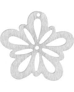 Bloem, d: 27 mm, wit, 20 stuk/ 1 doos