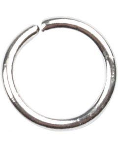 Ringen, afm 5,4 mm, dikte 0,7 mm, verzilverd, 500 stuk/ 1 doos