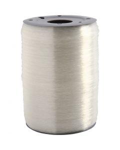 Elastisch draad, rond, dikte 0,5 mm, 1000 m/ 1 rol