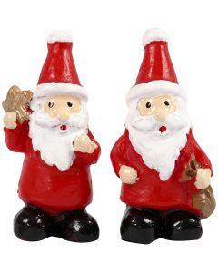 Miniatuur figuren, H: 35 mm, B: 17 mm, 2 stuk/ 1 doos