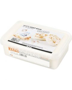 Shea boter zeepbasis, wit, 1 kg