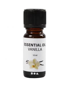 Geurolie, Vanille, 10 ml, 10 ml/ 1 fles