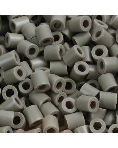 Strijkkralen, afm 5x5 mm, gatgrootte 2,5 mm, medium, essen (32226), 6000 stuk/ 1 doos