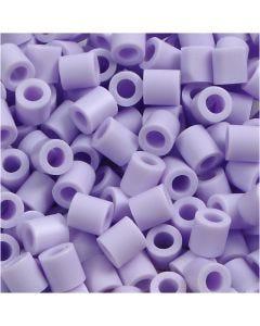 Strijkkralen, afm 5x5 mm, gatgrootte 2,5 mm, medium, flieder (32245), 1100 stuk/ 1 doos