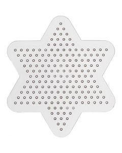 Onderplaat, d: 10 cm, transparant, 1 stuk