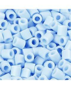 Foto kralen, afm 5x5 mm, gatgrootte 2,5 mm, lichtblauw (28), 6000 stuk/ 1 doos