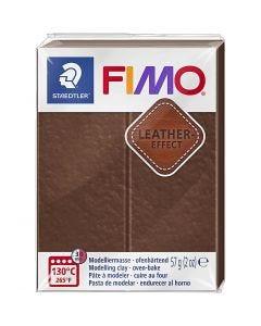 FIMO® Leather Effect , nut (779), 57 gr/ 1 doos