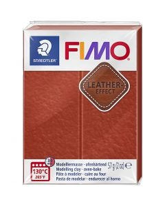FIMO® Leather Effect , rust (749), 57 gr/ 1 doos