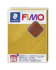 FIMO® Leather Effect , ochre (179), 57 gr/ 1 doos