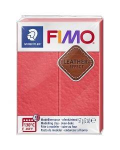 FIMO® Leather Effect , watermelon (249), 57 gr/ 1 doos