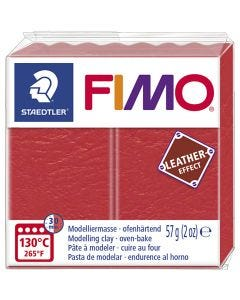 FIMO® Leather Effect , watermelon (249), 57 gr/ 1 doos