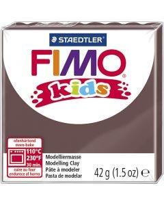 FIMO® Kids boetseerklei, bruin, 42 gr/ 1 doos