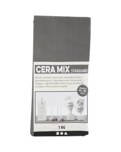 Cera-Mix Standaard gipsgietmix, lichtgrijs, 1 kg