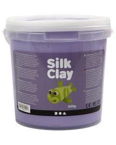 Silk Clay®, paars, 650 gr/ 1 emmer