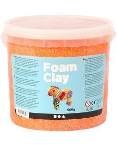 Foam Clay®, neon oranje, 560 gr/ 1 emmer