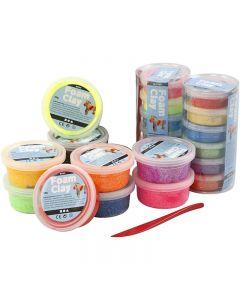 Foam Clay®, diverse kleuren, 22 Doosje/ 1 set