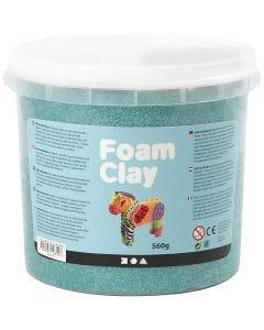 Foam Clay®, donkergroen, 560 gr/ 1 emmer