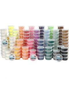 Foam Clay®, diverse kleuren, 22x10 Doosje/ 1 doos