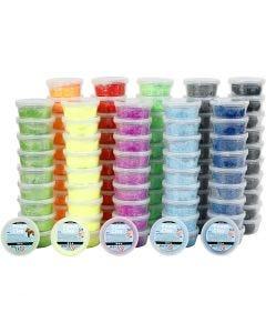 Foam Clay®, diverse kleuren, 10x10 Doosje/ 1 doos