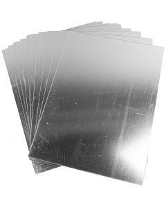 Plastic spiegel, 29,5x21 cm, dikte 1,1 mm, 10 vel/ 1 doos