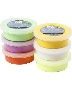Silk Clay®, voorjaarskleuren, 6x14 gr/ 1 doos