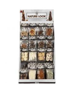 Tafel Display - Natuurlijke decoratie, H: 7400 mm, B: 4400 mm, 120 eenh./ 1 doos