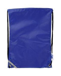 Rugzak, afm 31x44 cm, blauw, 1 stuk
