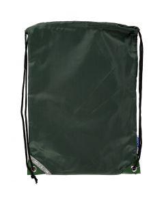 Rugzak, afm 31x44 cm, groen, 1 stuk