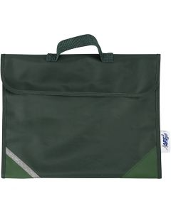Schooltas, afm 36x29 cm, groen, 1 stuk