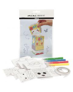 Mini Creatieve Set, 1 set