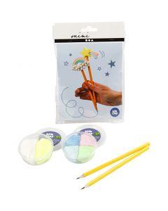 Mini Creatieve Set, potloden, 1 set