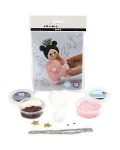 Mini Creatieve Set, fee met toverstaf, 1 set