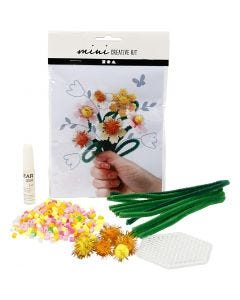Mini Creative Kit, bloemen, 1 set
