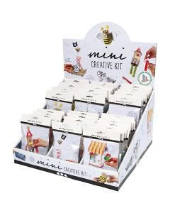 Display met Creative mini kits, 60 set/ 1 doos
