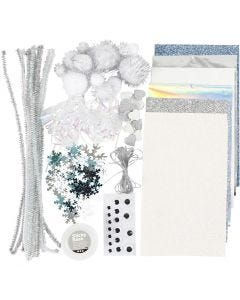 Hobby basismaterialen, Winter, 1 doos
