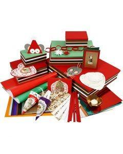 Het traditionele Kerstkoopje, diverse kleuren, 1 set