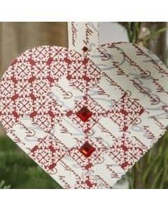 Gevlochten hart van Vivi Gade