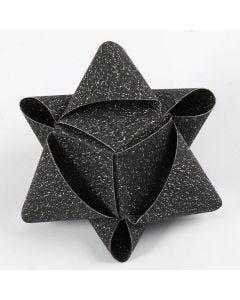 Kubusvormige ster van Vivi Gade papieren vlechtstroken