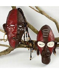 Afrikaanse tribal maskers