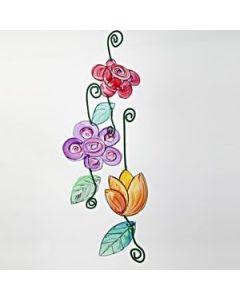 Transparente bloemen
