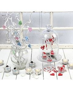 Hangende decoraties van Silk Clay