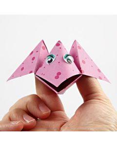 Vogel van origami papier