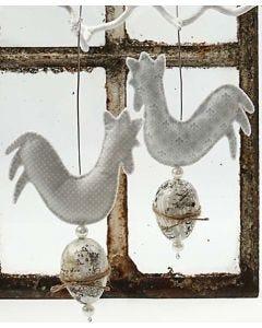 Kippen van vilt
