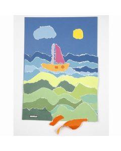 Collage van ColorBar papier