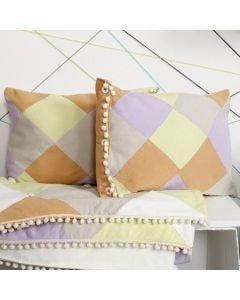 Kussens van patchwork