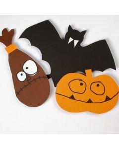 Halloween sjablonen