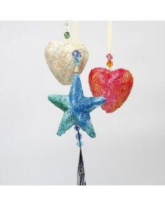 Styropor harten en sterren