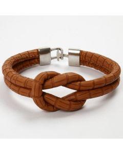 Een armband met een knoop