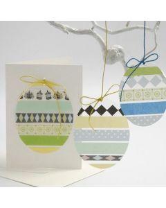 Eieren van harde folie met masking tape